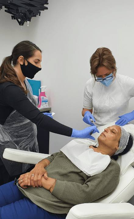 Teaching at Perfect Skin Academy
