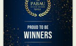 Pabau Award winners 2021